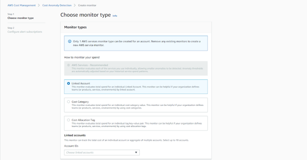 Cloudride cost anomaly detection - monito